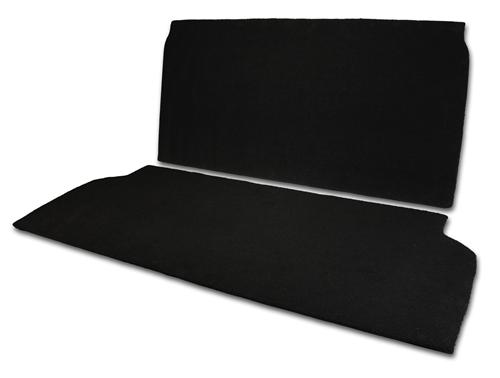 MMR Mustang Rear Seat Delete Black (94-04) Coupe
