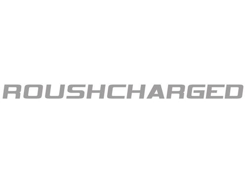 Roush Mustang Roushcharged Hood Scoop Decal Silver (05-09) 401853