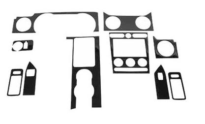 Picture of 2005-09 Mustang Roush Carbon Fiber Interior Trim Kit,