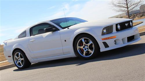 Picture of Roush Mustang Wheel & Tire Kit - 18x10 Chrome (05-06)