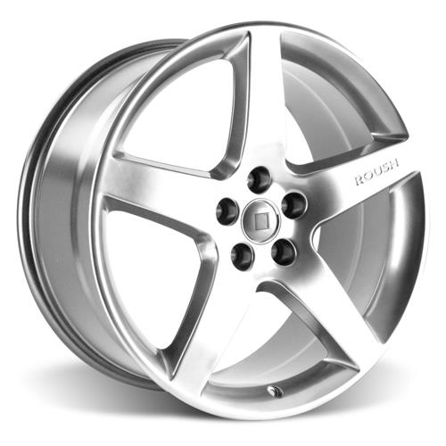 Roush Mustang Wheel & Tire Kit - 18x10 Chrome (05-06) Cooper Zeon RS3-S 421136 - Roush Mustang Wheel & Tire Kit - 18x10 Chrome (05-06) Cooper Zeon RS3-S 421136