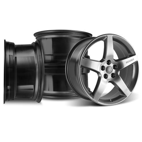 "Roush Mustang Wheel Kit - 20x9.5"" Hyper Black (05-15) 421278"