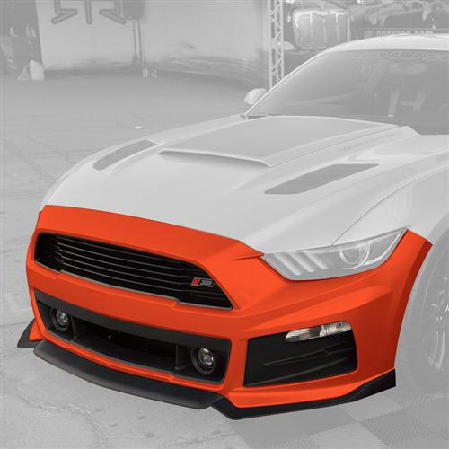 Roush Mustang Complete Front Fascia Kit Competition Orange (2015) 421844