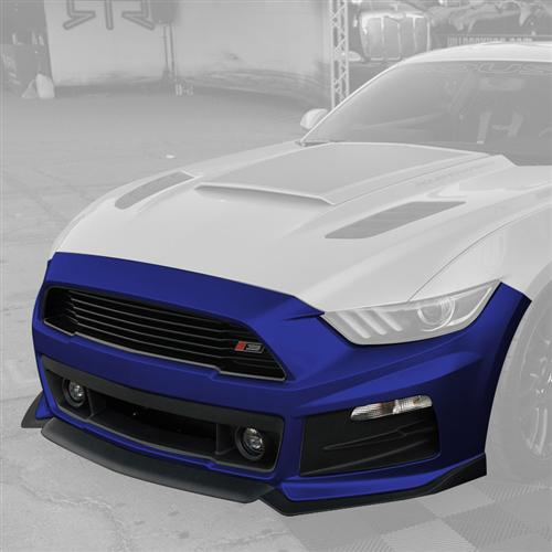 Roush Mustang Complete Front Fascia Kit Deep Impact Blue (2015) 421847