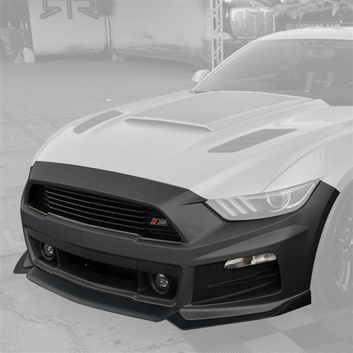 Roush Mustang Complete Front Fascia Kit Magnetic Gray (2015) 421848