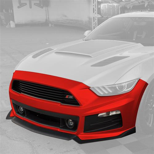 Roush Mustang Complete Front Fascia Kit Race Red (2015) 421849