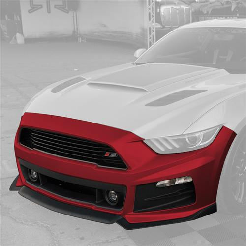 Roush Mustang Complete Front Fascia Kit Ruby Red (2015) 421850