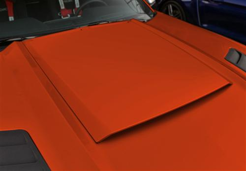 Roush Mustang Hood Scoop Competition Orange (2015) 421859