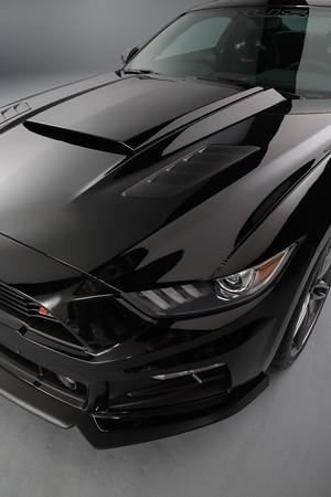 Roush Mustang Hood Scoop Black 15 17 421866 Lmr