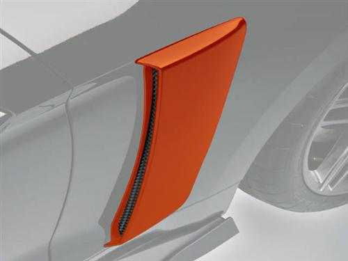 Roush Mustang Quarter Panel Side Scoops Competition Orange (2015) 421871