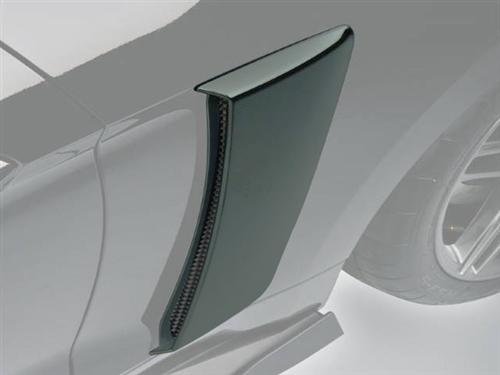 Roush Mustang Quarter Panel Side Scoops Guard Green (2015) 421873
