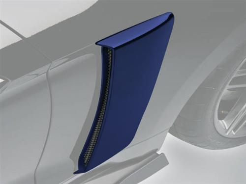 Roush Mustang Quarter Panel Side Scoops Deep Impact Blue (2015) 421874