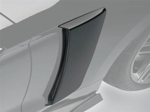 Roush Mustang Quarter Panel Side Scoops Magnetic Gray (2015) 421875