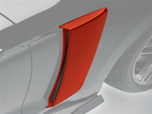 Roush Mustang Quarter Panel Side Scoops Race Red (2015) 421876