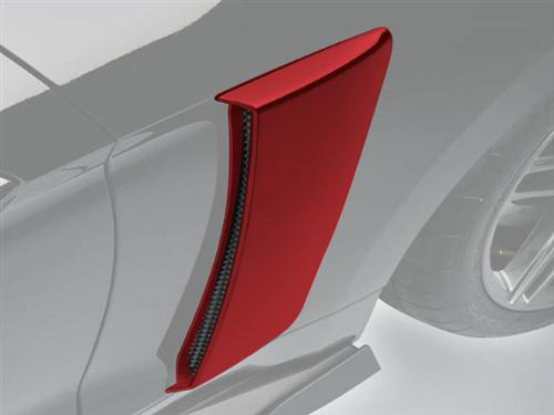 Roush Mustang Quarter Panel Side Scoops Ruby Red (2015) 421877