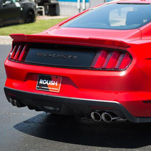 Roush Mustang Rear Spoiler Race Red (15-17) Coupe 421889