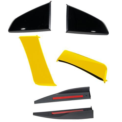 Roush Mustang 3-Piece Body Kit  - Triple Yellow (15-17) 422024 - Roush Mustang 3-Piece Body Kit  - Triple Yellow (15-17) 422024