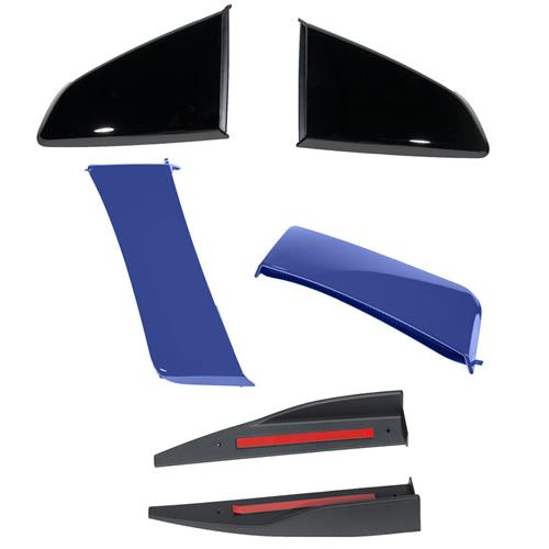 Roush Mustang 3-Piece Body Kit  - Deep Impact Blue (15-17) 422026