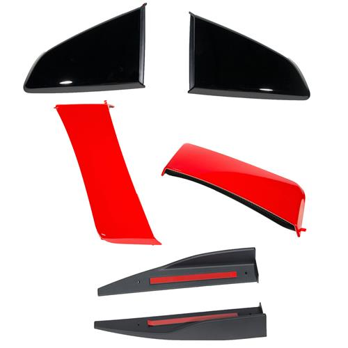 Roush Mustang 3-Piece Body Kit  - Race Red (15-17) 422028