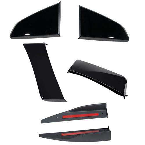 Roush Mustang 3-Piece Body Kit  - Black (15-17) 422030