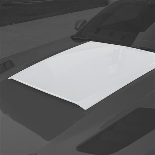 Roush Mustang Hood Scoop  - White Platinum Metallic (15-17) 422055