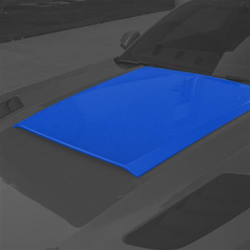 Roush Mustang Hood Scoop  - Lightning Blue (15-17) 422056