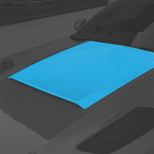 Roush Mustang Hood Scoop  - Grabber Blue (15-17) 422057