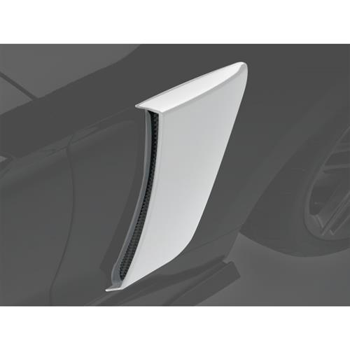 Roush Mustang Quarter Panel Side Scoops  - White Platinum Metallic (15-17) 422058