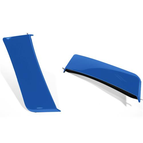 Roush Mustang Quarter Panel Side Scoops  - Lightning Blue (15-17) 422059