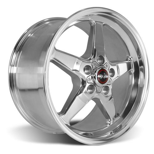 Race Star Mustang Drag Star Wheel - 17x9.5  - Polished - Direct Drill (05-17) 92-795153DP