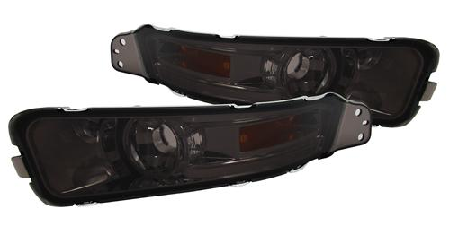 Mustang Smoked Front Bumper Park Lights (05-09)