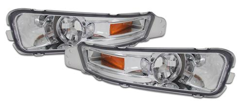 Mustang Front Bumper Park Lights Clear  (05-09)