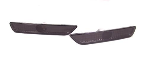 Mustang Smoked Front Bumper Park Lights (10-14)