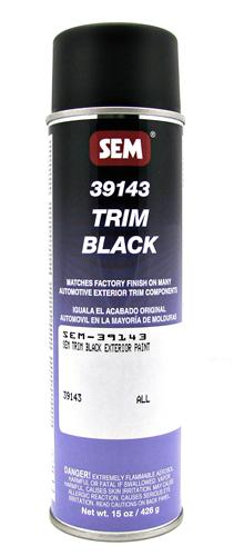 SEM Trim Black Exterior Paint