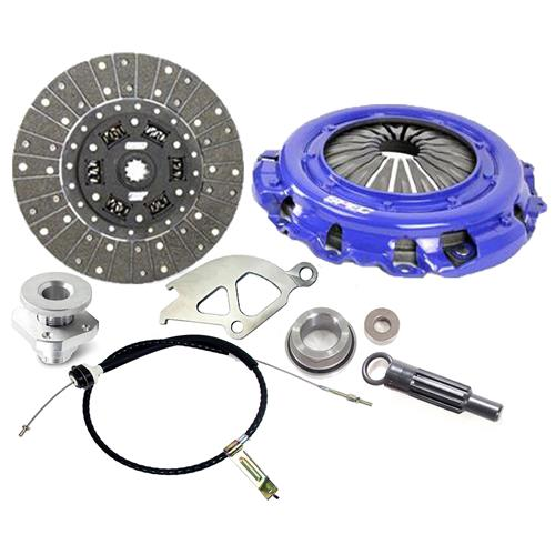 "Spec  Mustang Stage 1 Clutch & Cable Kit - 10.5"" - 10 Spline (86-01) 4.6 5.0"