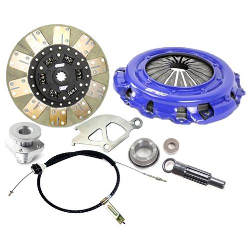 "Spec  Mustang Stage 2 Clutch & Cable Kit - 10.5"" - 10 Spline (86-01) 4.6 5.0"