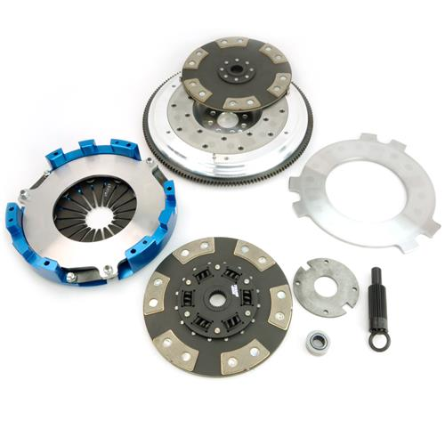 Spec Mustang Dual Disc Clutch Kit SS Trim (11-12) GT500