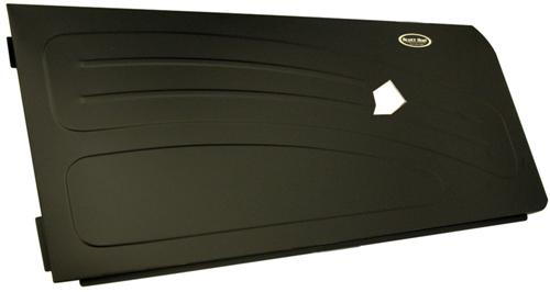 Picture Of1994 2004 Mustang Black Aluminum Door Panels With Bead Roll Upgrade Satin