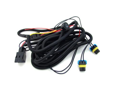 sse 95073591_6101 fog light grille wiring harness (05 09) v6 950 73591 04 mustang fog light wiring harness at bakdesigns.co