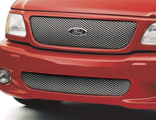Street Scene F-150 SVT Lightning Upper & Lower Speed Grille Kit (01-04)