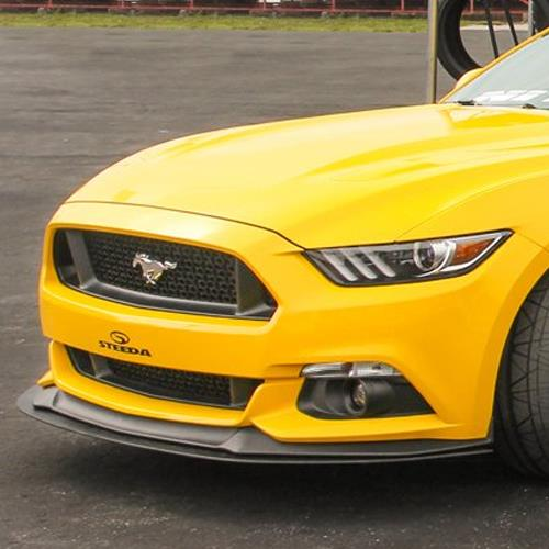 Steeda Mustang Front Splitter (15-17) GT w/ Performance Pack 283-S550-GT-PP