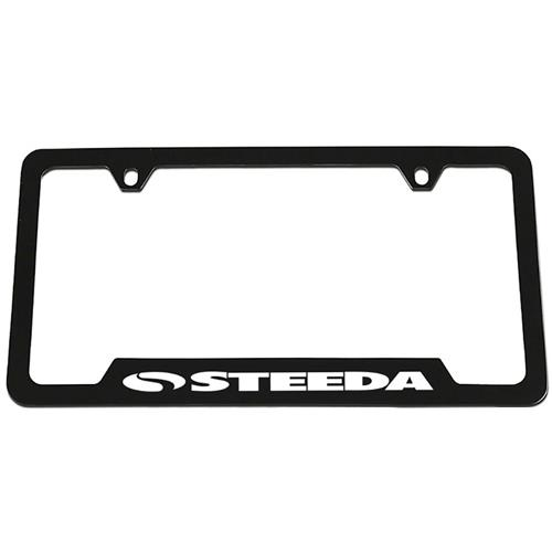 Steeda Speed Matters License Plate Frame 314-DF32-B2 - Steeda Speed Matters License Plate Frame 314-DF32-B2