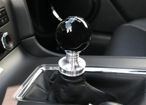 Steeda Mustang Shift Knob And Collar Black (11-14) 5551250