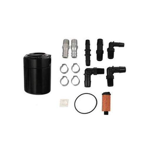 Steeda Mustang Billet Oil Separator Black (2015) 555-3716