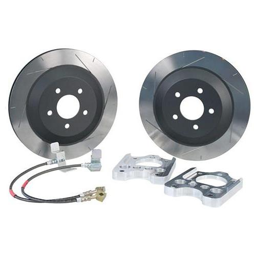 "Steeda Mustang 13"" Rear Brake Rotor Upgrade Kit (05-14) 5556009"