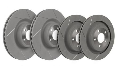 Steeda Mustang Slotted Brake Rotor Kit Performance Pack (2015) GT 555-6026