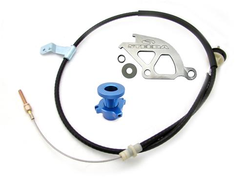 Steeda  Mustang Adjustable Clutch Cable Kit (96-04) 7553B