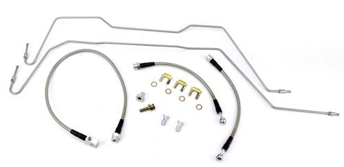 1999 Tahoe Brake Lines Stainless Steel : Stifflers f svt lightning stainless steel brake hoses