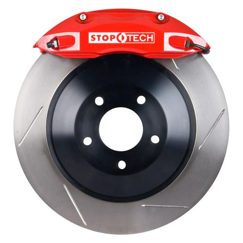 "StopTech Mustang Front Big Brake Kit, 14"" Rotors, 4 Piston Calipers Red (05-14) 82.330.4700.71"