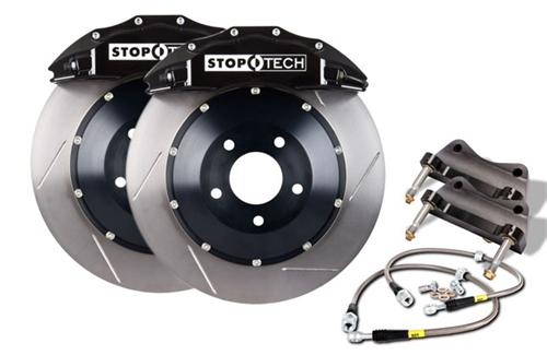 "StopTech Mustang Front Brake Kit - 6 Piston - 15"" - Black (05-14) 83.334.680.51"